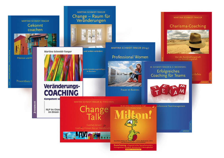 Bücher von Martina Schmidt-Tanger, Bestseller über NLP, Kommunikation, Veränderung und Charisma