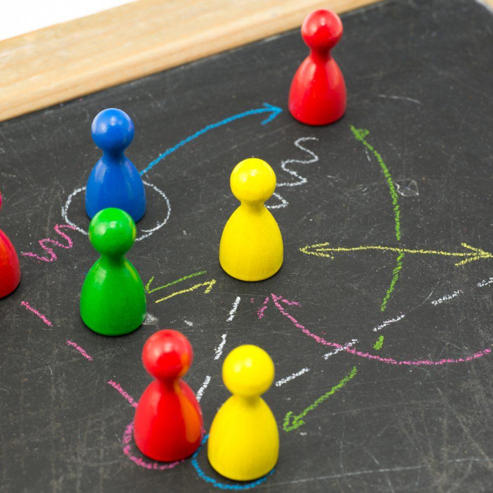 Teamcoaching für Führungskräfte und Gruppenmitglieder. Systemische Beratung im Business.
